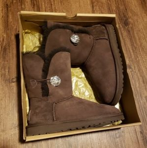 Bling bailey button ugg boots